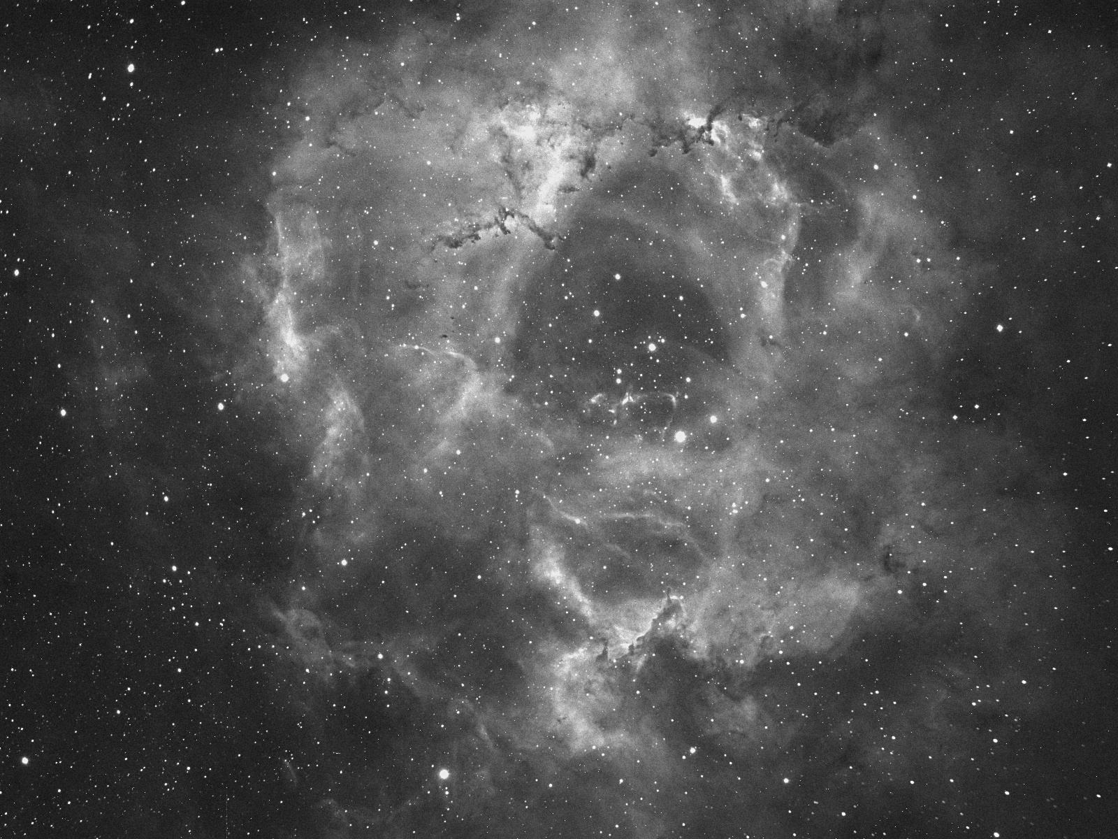Nebulosa Rosetta - foto di Corrado Di Noto