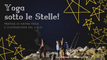 Yoga sotto le stelle a Portonovo!