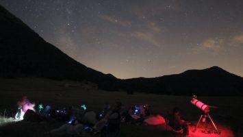 Notte di San Lorenzo sul San Vicino. Perseidi e telescopi