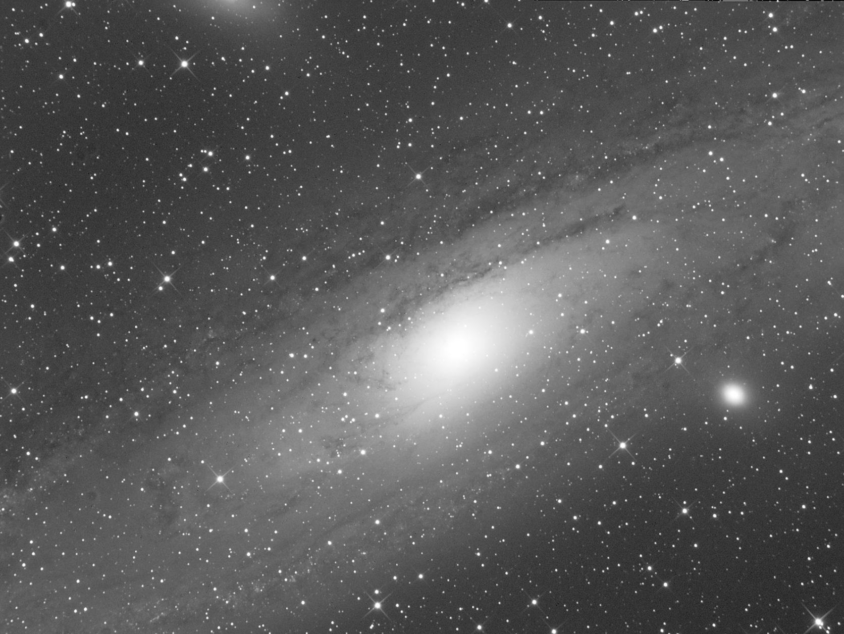Galassia di Andromeda - foto di Corrado Di Noto