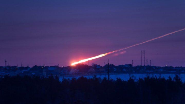 Meteorite in caduta a Chelyabinsk - Russia