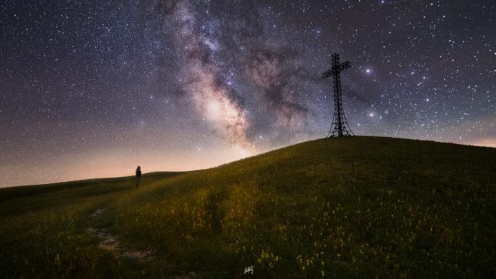 Monte Catria e Via Lattea
