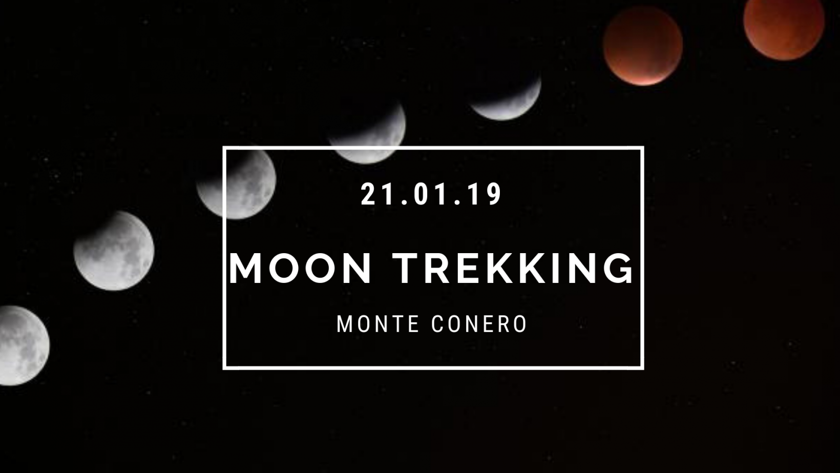 Moon Trekking: eclissi totale di Luna!