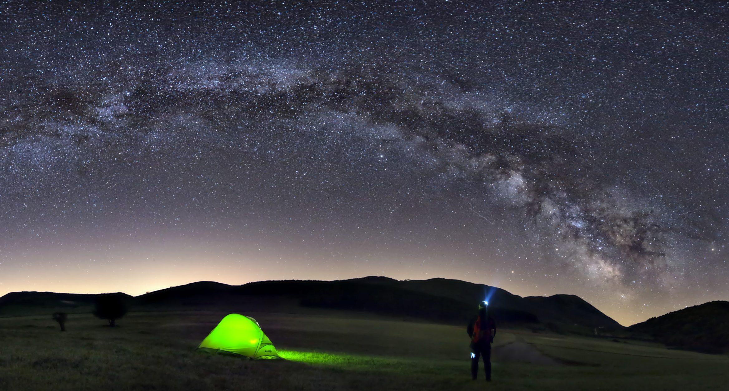 Montelago sotto la Via Lattea