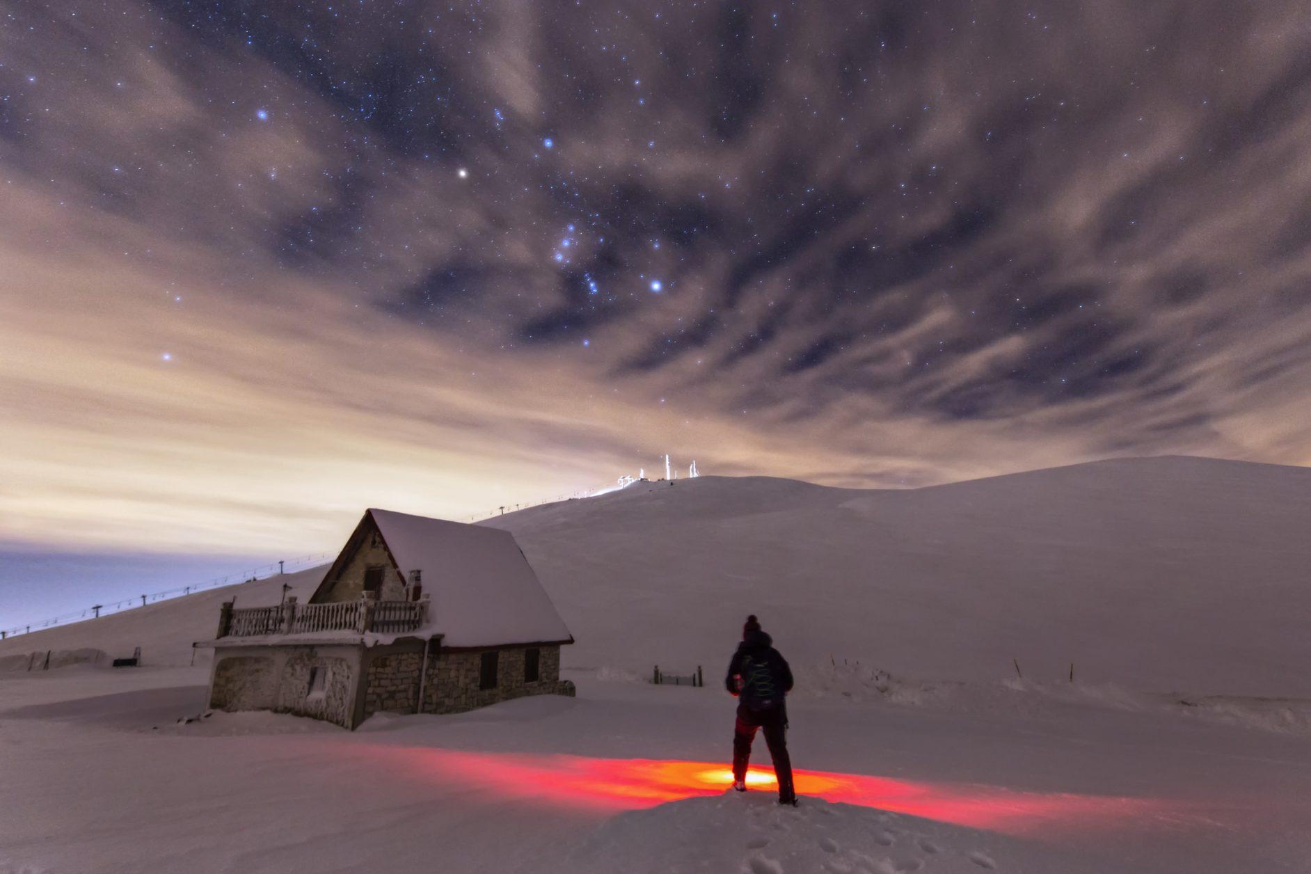 Piani di Ragnolo e Via Lattea
