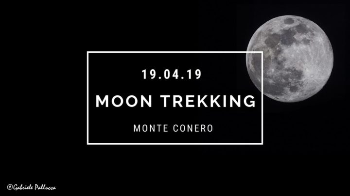 Moon trekking Marche sul Conero