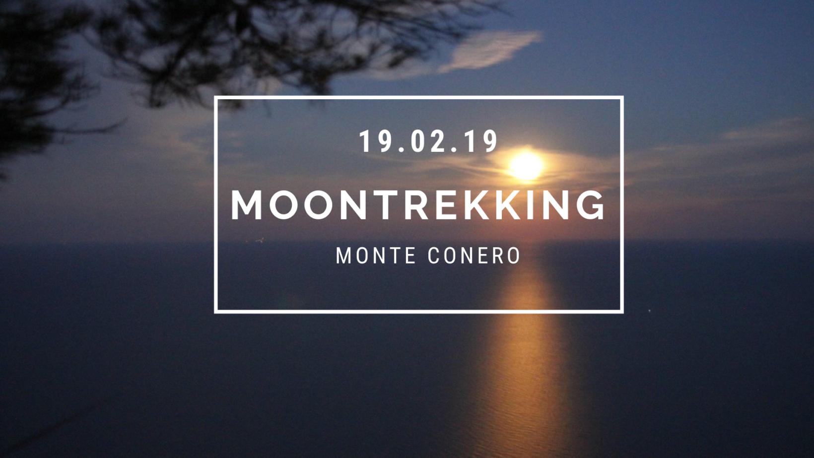 Moon trekking: Super Luna al Conero