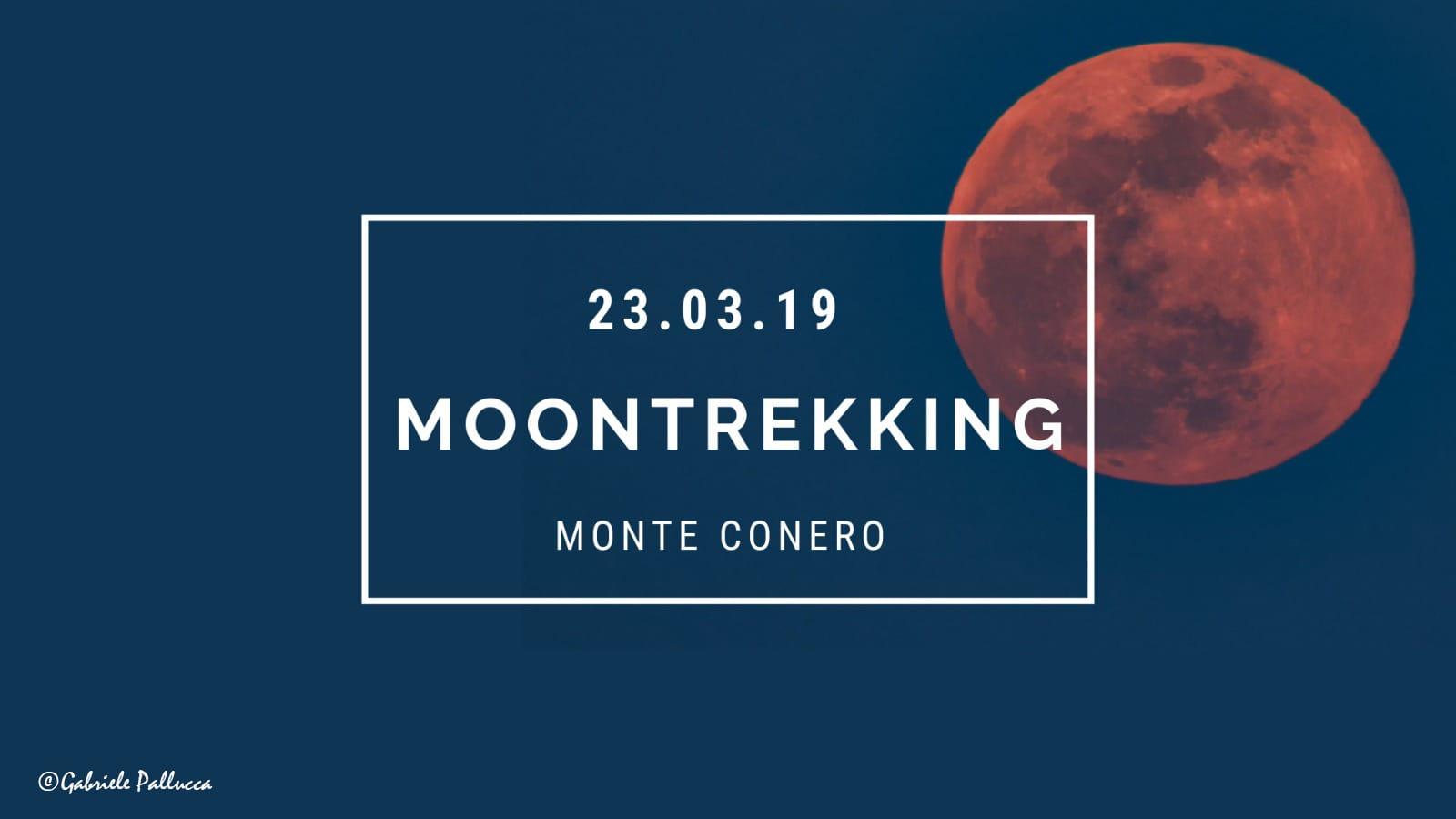 Moon trekking al Conero