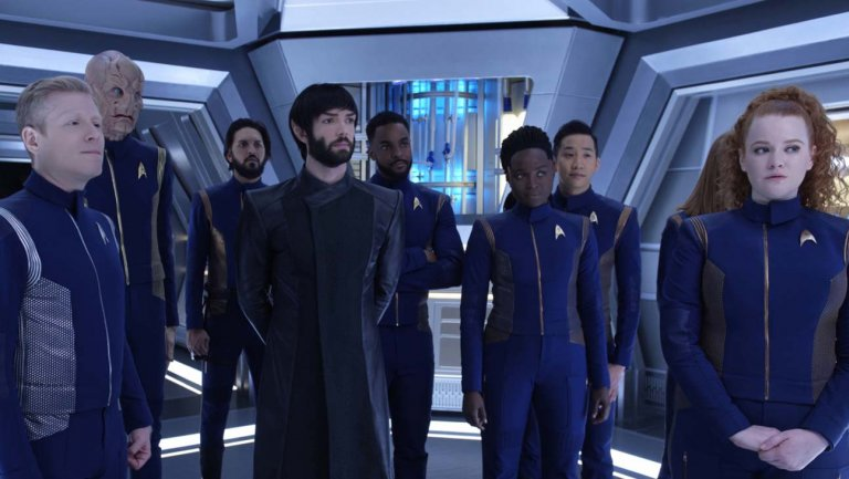 Star Trek Discovery Crew