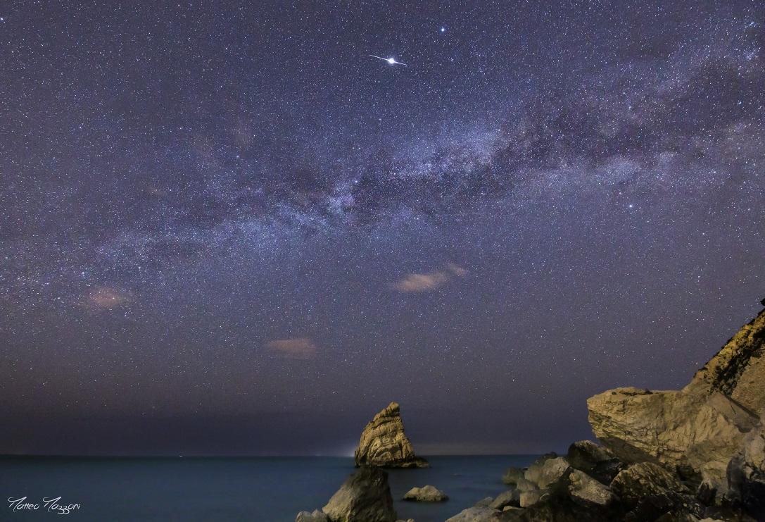 La Via Lattea invernale sulla Vela